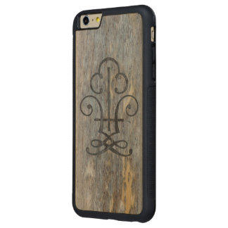 Aged Wood Carved iPhone 6 Plus Case Carved® Maple iPhone 6 Plus Bumper