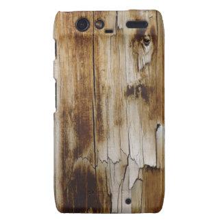 Aged Wood Droid RAZR Case