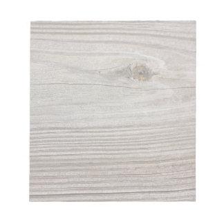 Aged Wood Notepad