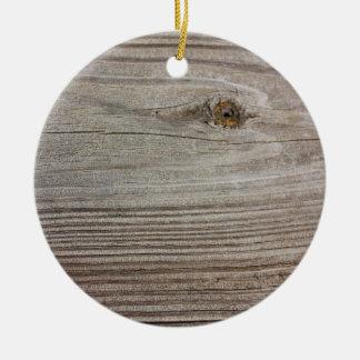 Aged Wood Ornament
