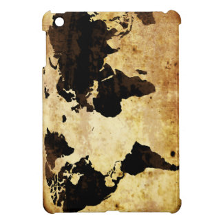 aged-world-map cover for the iPad mini
