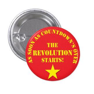 Ageing Leftie Badge 2 Button