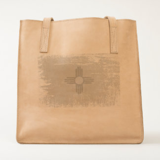 Ageing of the New Mexico flag Tote