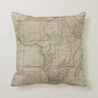 Ageless Africa Throw Pillows