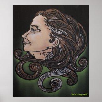 Ageless Beauty Poster by Benji Paffel