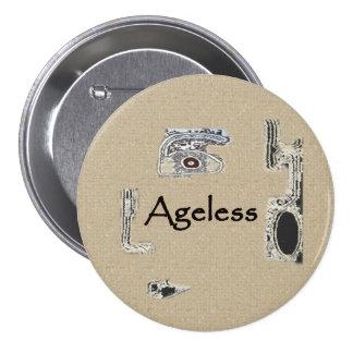 Ageless Pinback Button