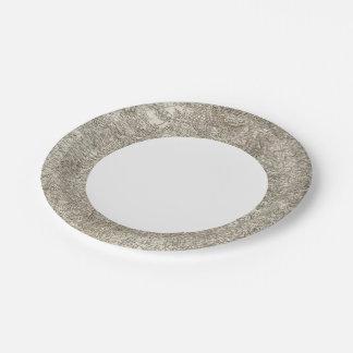 Agen 7 Inch Paper Plate