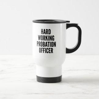 Agencia de libertad vigilada de trabajo dura taza térmica