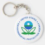 Agencia de Protección Ambiental Llavero Personalizado