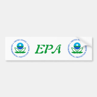 Agencia de Protección Ambiental Pegatina Para Auto