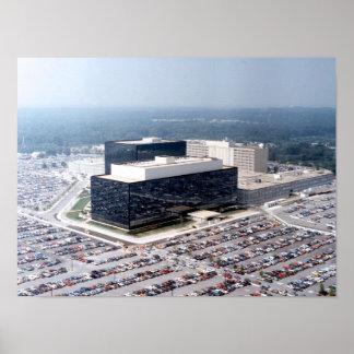 Agencia de seguridad del nacional del NSA Póster