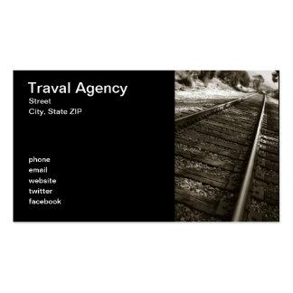 Agencia de Traval Tarjetas De Visita