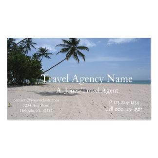 Agencia de viajes tarjeta de negocio