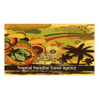 Agencia de viajes plantilla de tarjeta de negocio