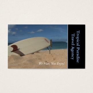 Agencia de viajes tarjetas de visita