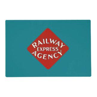 Agencia expresa del ferrocarril salvamanteles