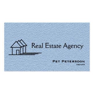agencia inmobiliaria real con código de QR Tarjetas De Visita