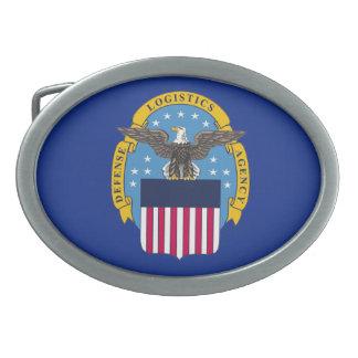 Agencia logística de la defensa de los E E U U Hebilla De Cinturón Oval