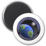 Agencia nacional de la Geospatial-Inteligencia (NG Imán Para Frigorifico