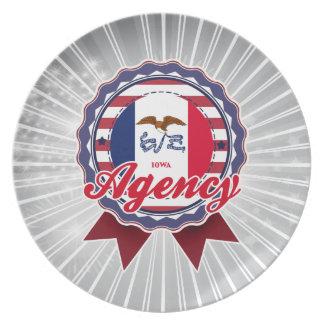 Agency IA Dinner Plate