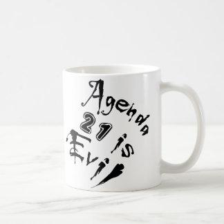 Agenda 21 is Evil Coffee Mug