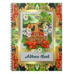 Agenda del ~ de la cesta de la fresa cuadernos