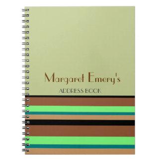 Agenda personal (o diario o lista) libretas espirales