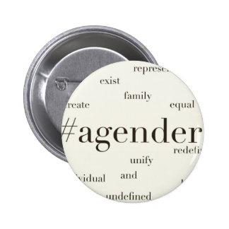 #Agender Button