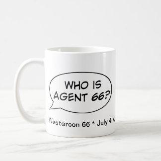 Agent 66 Westercon Mugs