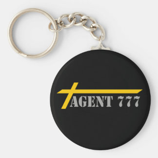 Agent 777 Yellow Cross-country races Gray MELTS Keychain