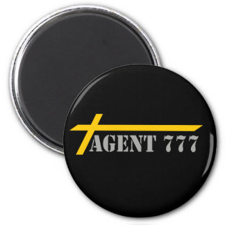 Agent 777 Yellow Cross-country races Gray MELTS Magnet