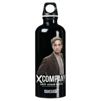Agent Alfred Graves Aluminum Water Bottle