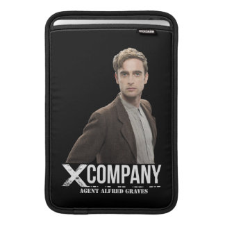 Agent Alfred Graves MacBook Sleeve