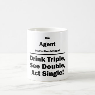 agent coffee mug