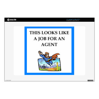 AGENT DECAL FOR LAPTOP