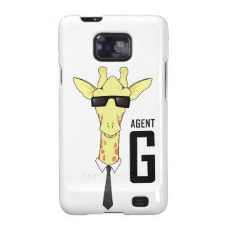 Agent G for Giraffe Galaxy SII Cases