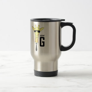 Agent G for Giraffe Coffee Mugs