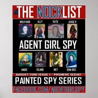 AGENT GIRL SPY POSTER