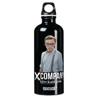 Agent Harry James Water Bottle