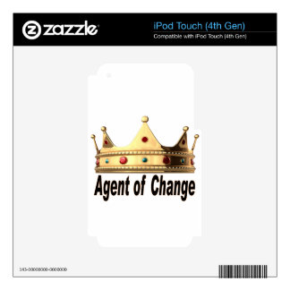 Agent of Change Decal For iPod Touch 4G