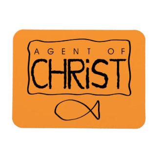 Agent of Christ Magnet