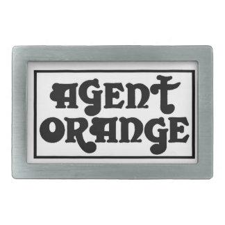 """Agent Orange """"Amp"""" Skate Punk Belt Buckle"""