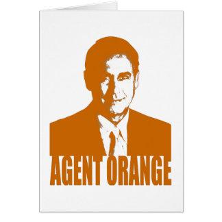 Agent Orange Card