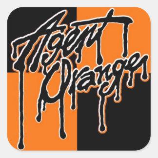 "Agent Orange ""Drip"" Logo Stickers Skate Punk Rock"