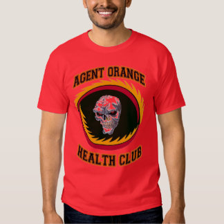 AGENT ORANGE HEALTH CLUB T-SHIRT