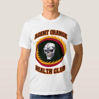 AGENT ORANGE HEALTH CLUB T SHIRT