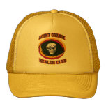 AGENT ORANGE HEALTH CLUB TRUCKER HAT