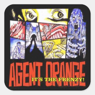 "Agent Orange ""It's the Frenzy 1"" Stickers Punk"