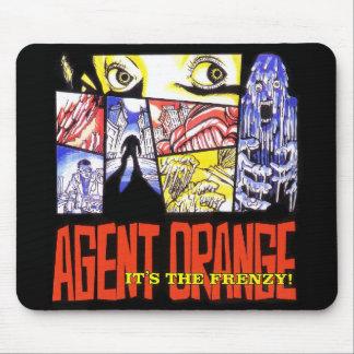 "Agent Orange ""It's the Frenzy"" Mousepad"