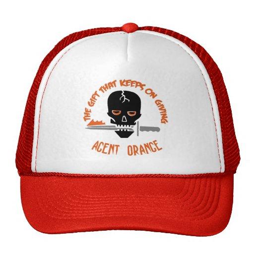 Agent Orange la LUZ del regalo Gorros